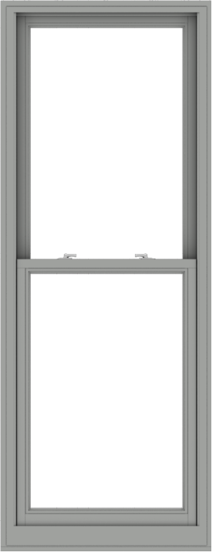 WDMA 30x78 (29.5 x 77.5 inch)  Aluminum Single Double Hung Window without Grids-1