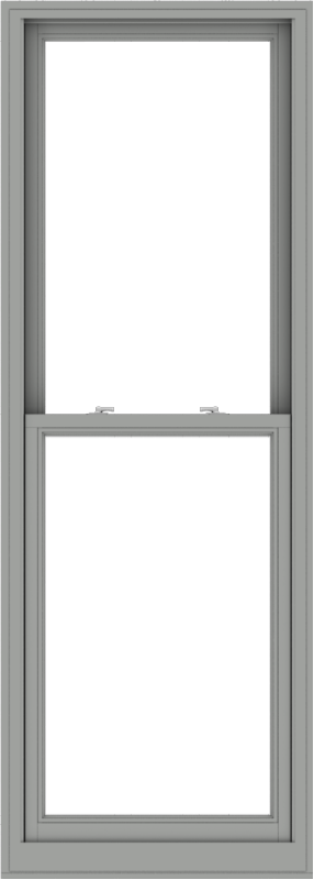 WDMA 30x84 (29.5 x 83.5 inch)  Aluminum Single Double Hung Window without Grids-1