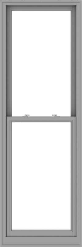 WDMA 30x90 (29.5 x 89.5 inch)  Aluminum Single Double Hung Window without Grids-1