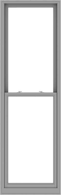 WDMA 32x102 (31.5 x 101.5 inch)  Aluminum Single Double Hung Window without Grids-1