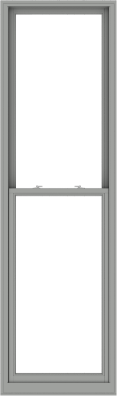 WDMA 32x108 (31.5 x 107.5 inch)  Aluminum Single Double Hung Window without Grids-1