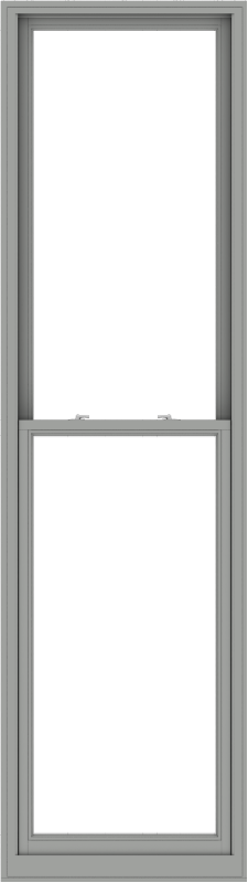 WDMA 32x114 (31.5 x 113.5 inch)  Aluminum Single Double Hung Window without Grids-1