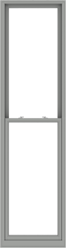 WDMA 32x120 (31.5 x 119.5 inch)  Aluminum Single Double Hung Window without Grids-1