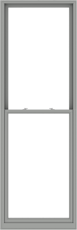 WDMA 40x120 (39.5 x 119.5 inch)  Aluminum Single Double Hung Window without Grids-1
