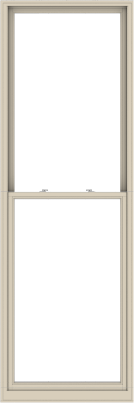 WDMA 40x120 (39.5 x 119.5 inch)  Aluminum Single Hung Double Hung Window without Grids-2