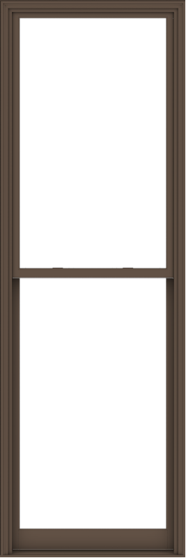 WDMA 40x120 (39.5 x 119.5 inch)  Aluminum Single Hung Double Hung Window without Grids-4