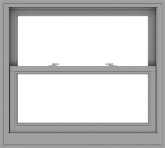 WDMA 40x36 (39.5 x 35.5 inch)  Aluminum Single Double Hung Window without Grids-1