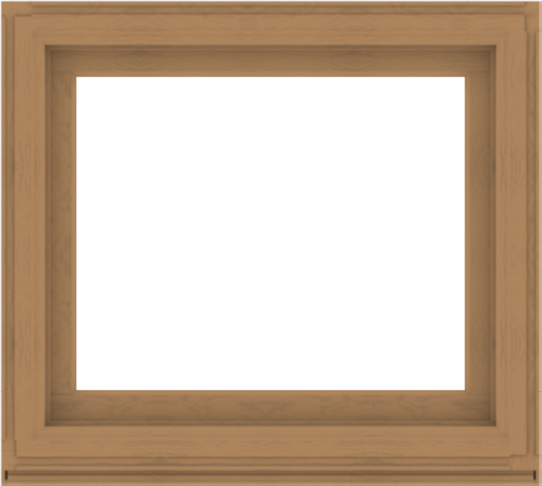 WDMA 40x36 (39.5 x 35.5 inch) Composite Wood Aluminum-Clad Picture Window without Grids-1