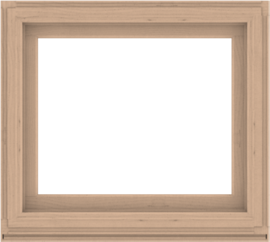 WDMA 40x36 (39.5 x 35.5 inch) Composite Wood Aluminum-Clad Picture Window without Grids-2
