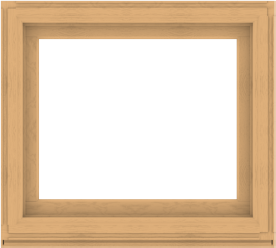 WDMA 40x36 (39.5 x 35.5 inch) Composite Wood Aluminum-Clad Picture Window without Grids-3