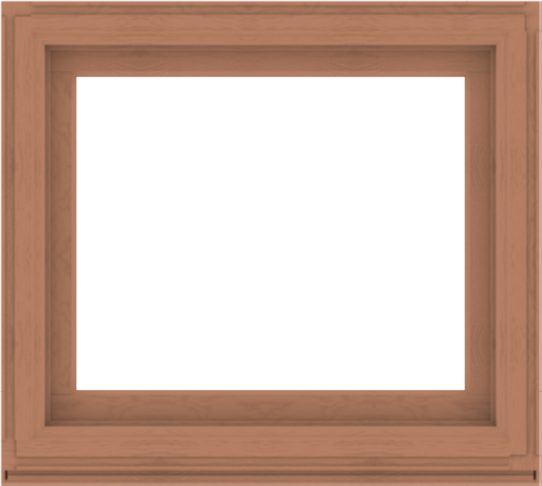 WDMA 40x36 (39.5 x 35.5 inch) Composite Wood Aluminum-Clad Picture Window without Grids-4