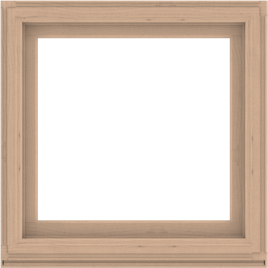 WDMA 40x40 (39.5 x 39.5 inch) Composite Wood Aluminum-Clad Picture Window without Grids-2
