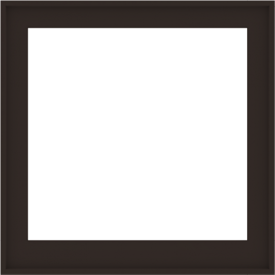 WDMA 40x40 (39.5 x 39.5 inch) Composite Wood Aluminum-Clad Picture Window without Grids-6