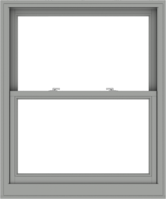 WDMA 40x48 (39.5 x 47.5 inch)  Aluminum Single Double Hung Window without Grids-1