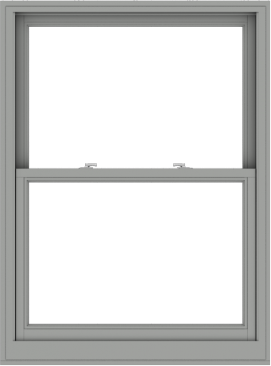 WDMA 40x54 (39.5 x 53.5 inch)  Aluminum Single Double Hung Window without Grids-1