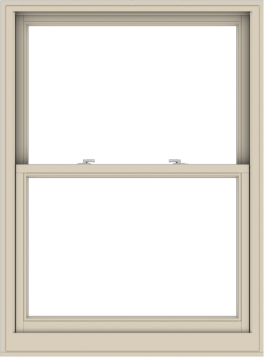 WDMA 40x54 (39.5 x 53.5 inch)  Aluminum Single Hung Double Hung Window without Grids-2