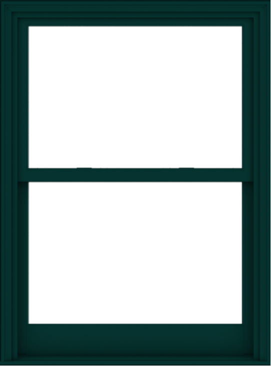 WDMA 40x54 (39.5 x 53.5 inch)  Aluminum Single Hung Double Hung Window without Grids-5