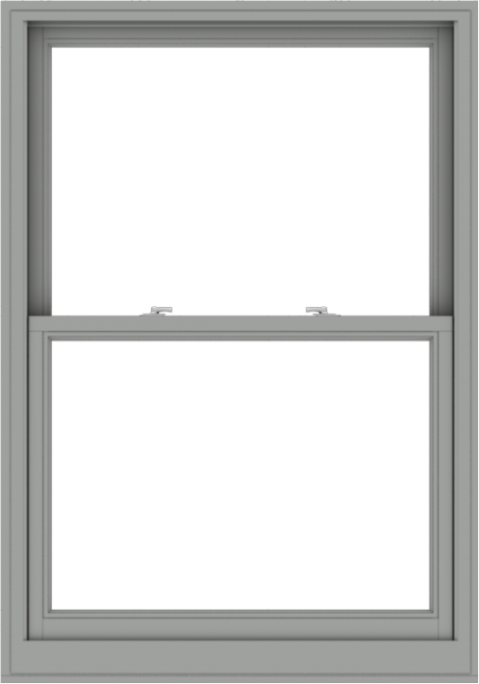 WDMA 40x57 (39.5 x 56.5 inch)  Aluminum Single Double Hung Window without Grids-1