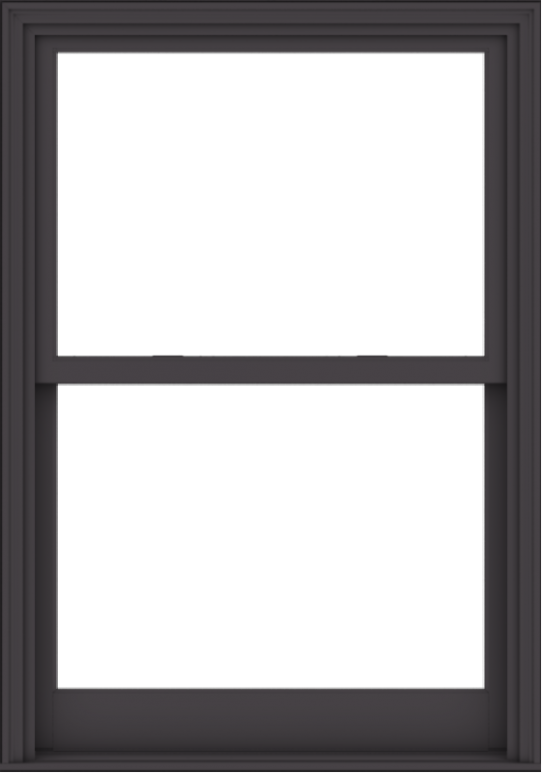 WDMA 40x57 (39.5 x 56.5 inch)  Aluminum Single Hung Double Hung Window without Grids-3