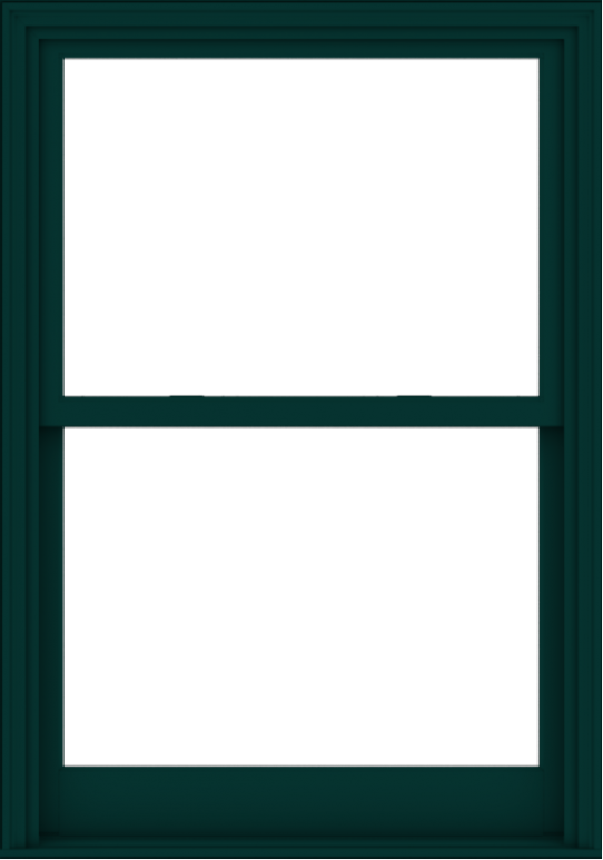 WDMA 40x57 (39.5 x 56.5 inch)  Aluminum Single Hung Double Hung Window without Grids-5