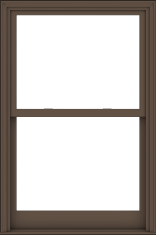 WDMA 40x60 (39.5 x 59.5 inch)  Aluminum Single Hung Double Hung Window without Grids-4