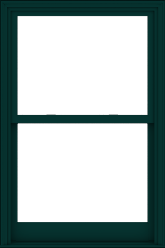 WDMA 40x60 (39.5 x 59.5 inch)  Aluminum Single Hung Double Hung Window without Grids-5