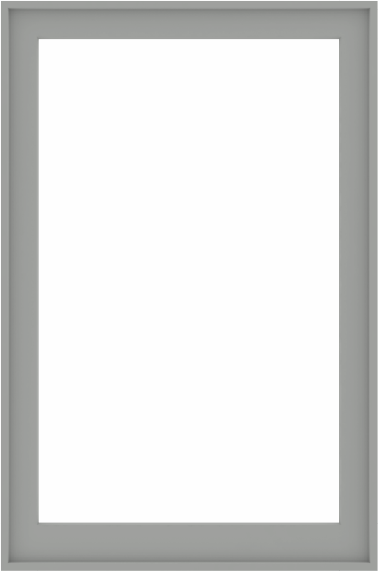 WDMA 40x60 (39.5 x 59.5 inch) Composite Wood Aluminum-Clad Picture Window without Grids-5
