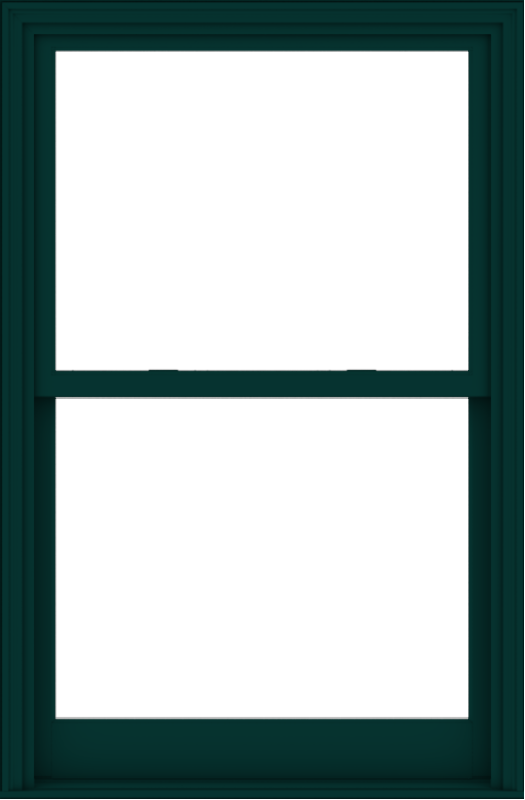 WDMA 40x61 (39.5 x 60.5 inch)  Aluminum Single Hung Double Hung Window without Grids-5