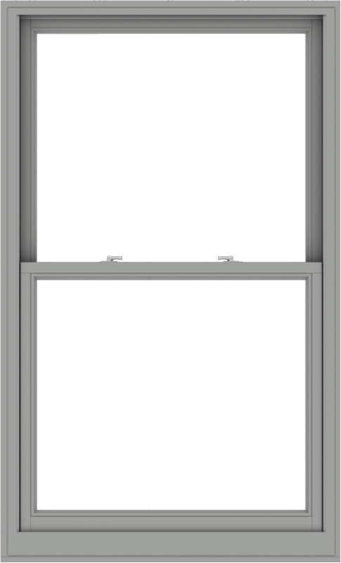 WDMA 40x66 (39.5 x 65.5 inch)  Aluminum Single Double Hung Window without Grids-1