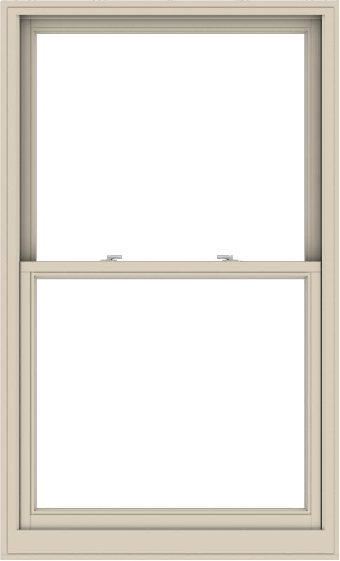 WDMA 40x66 (39.5 x 65.5 inch)  Aluminum Single Hung Double Hung Window without Grids-2