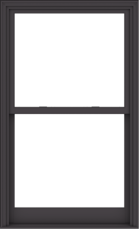WDMA 40x66 (39.5 x 65.5 inch)  Aluminum Single Hung Double Hung Window without Grids-3