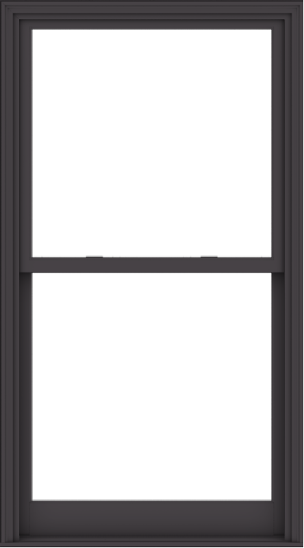 WDMA 40x72 (39.5 x 71.5 inch)  Aluminum Single Hung Double Hung Window without Grids-3