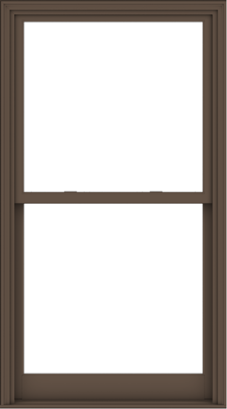 WDMA 40x72 (39.5 x 71.5 inch)  Aluminum Single Hung Double Hung Window without Grids-4
