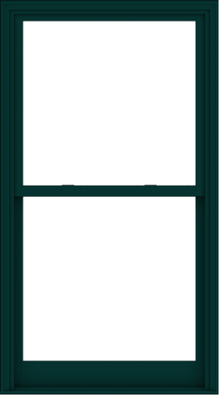 WDMA 40x72 (39.5 x 71.5 inch)  Aluminum Single Hung Double Hung Window without Grids-5