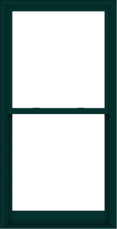 WDMA 40x78 (39.5 x 77.5 inch)  Aluminum Single Hung Double Hung Window without Grids-5