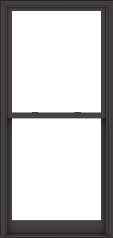 WDMA 40x84 (39.5 x 83.5 inch)  Aluminum Single Hung Double Hung Window without Grids-3