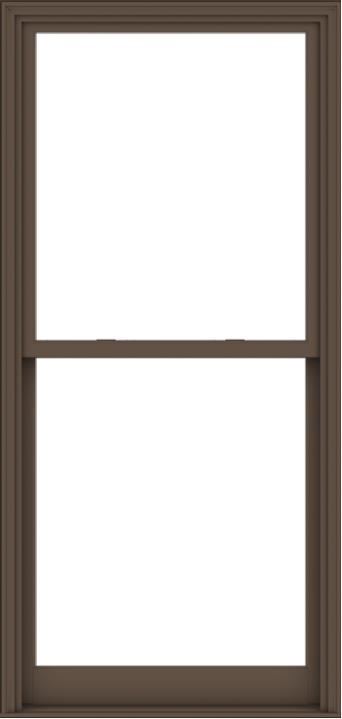WDMA 40x84 (39.5 x 83.5 inch)  Aluminum Single Hung Double Hung Window without Grids-4