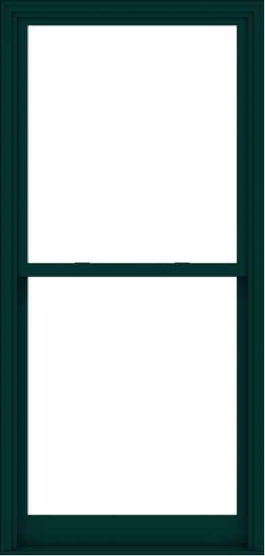 WDMA 40x84 (39.5 x 83.5 inch)  Aluminum Single Hung Double Hung Window without Grids-5