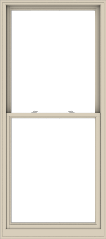 WDMA 40x90 (39.5 x 89.5 inch)  Aluminum Single Hung Double Hung Window without Grids-2