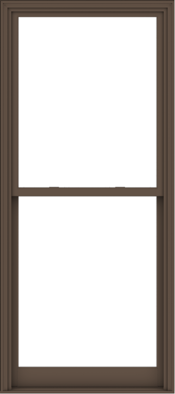 WDMA 40x90 (39.5 x 89.5 inch)  Aluminum Single Hung Double Hung Window without Grids-4
