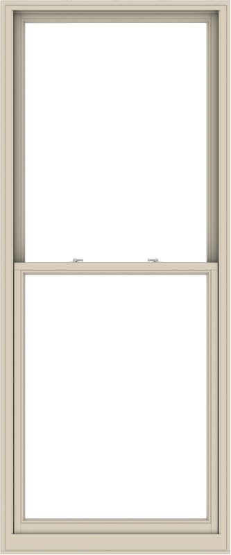 WDMA 40x96 (39.5 x 95.5 inch)  Aluminum Single Hung Double Hung Window without Grids-2