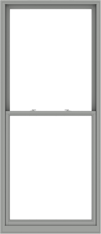 WDMA 44x102 (43.5 x 101.5 inch)  Aluminum Single Double Hung Window without Grids-1