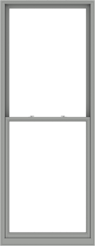 WDMA 44x114 (43.5 x 113.5 inch)  Aluminum Single Double Hung Window without Grids-1
