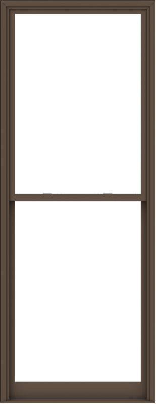 WDMA 44x114 (43.5 x 113.5 inch)  Aluminum Single Hung Double Hung Window without Grids-4