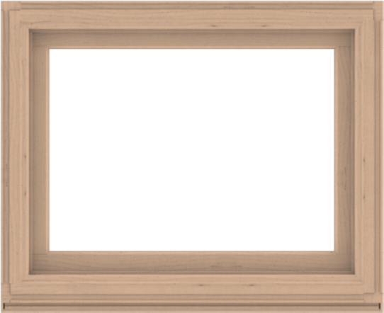 WDMA 44x36 (43.5 x 35.5 inch) Composite Wood Aluminum-Clad Picture Window without Grids-2