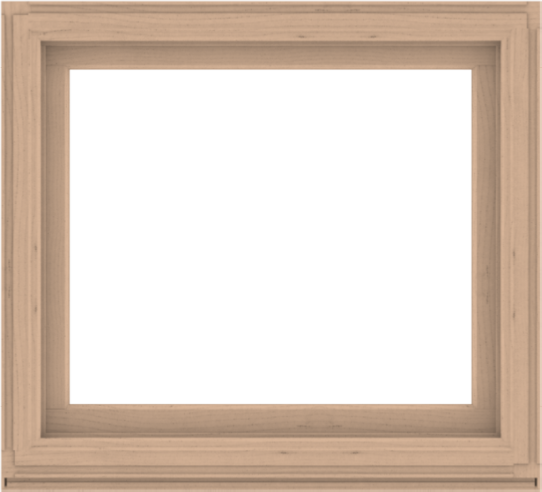 WDMA 44x40 (43.5 x 39.5 inch) Composite Wood Aluminum-Clad Picture Window without Grids-2