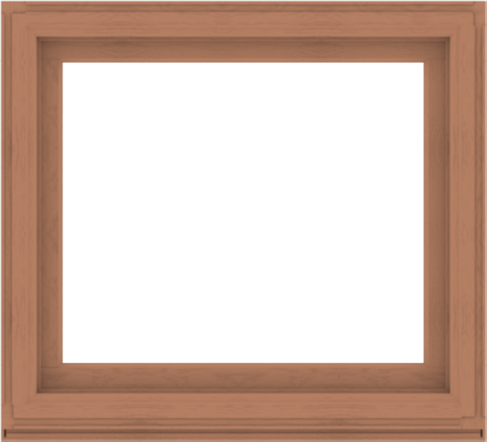 WDMA 44x40 (43.5 x 39.5 inch) Composite Wood Aluminum-Clad Picture Window without Grids-4