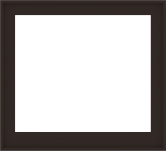 WDMA 44x40 (43.5 x 39.5 inch) Composite Wood Aluminum-Clad Picture Window without Grids-6