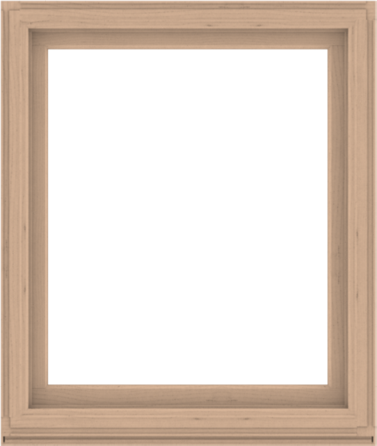 WDMA 44x52 (43.5 x 51.5 inch) Composite Wood Aluminum-Clad Picture Window without Grids-2