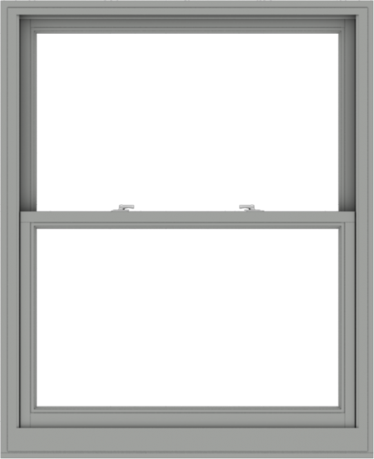 WDMA 44x54 (43.5 x 53.5 inch)  Aluminum Single Double Hung Window without Grids-1